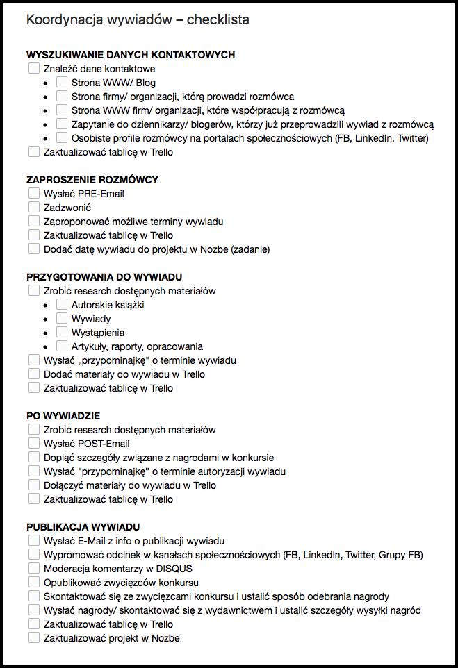 koordynacja-wywiadow-checklista